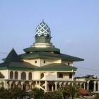 La mosquée Raya Kediri sur l'ile Java en indonésie