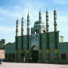Une mosquée avec 6 minarets à Turfan en Chine