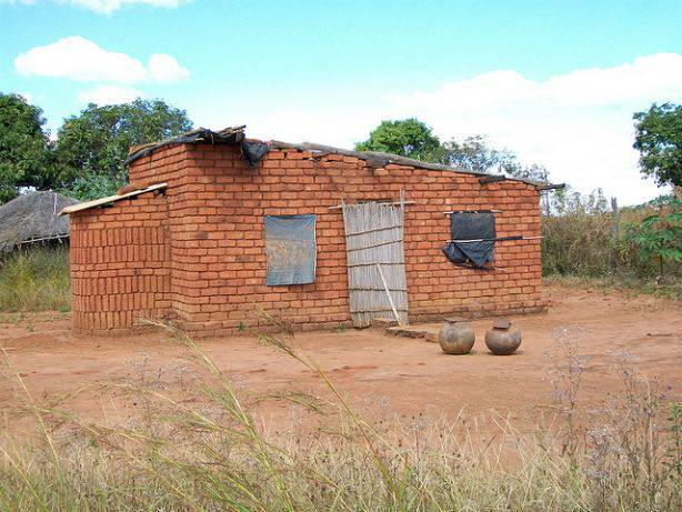 La mosquée d'un village dans le Mozambique