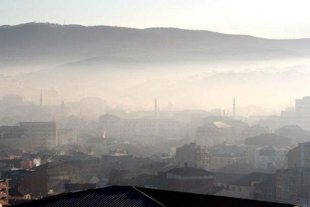 La ville de Pristina au Kosovo