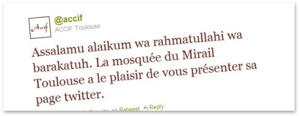 D'Internet à la mosquée – Twitter et Facebook