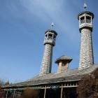 Mosquée de Bois en Iran