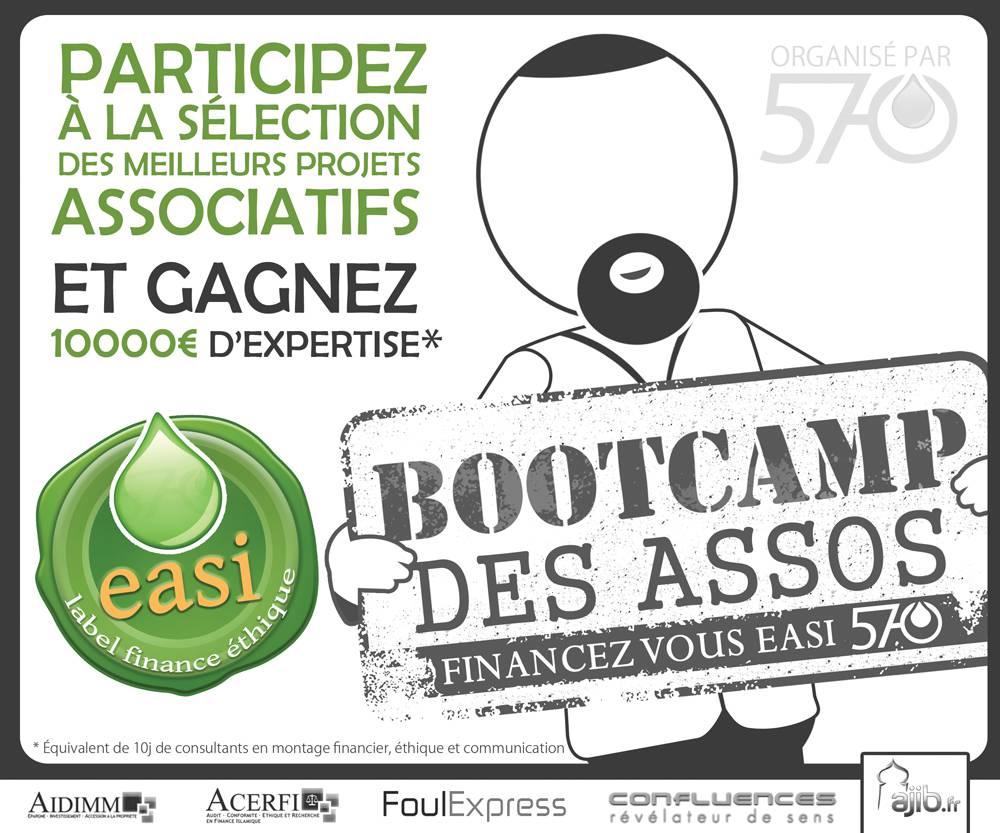 «Bootcamp des assos » …et si nous gérions les projets de mosquées comme des entreprises !