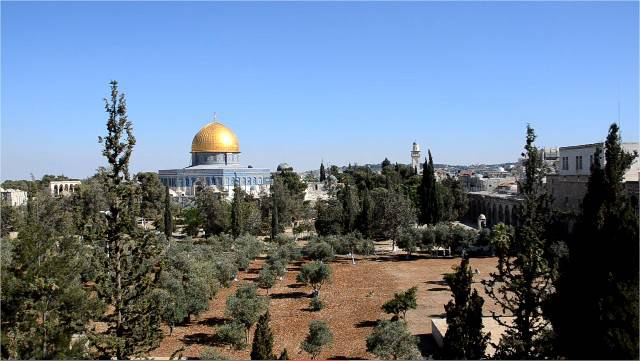 Esplanade des mosquées Jérusalem