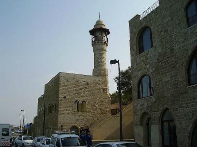 La mosquée Al Bahar Jaffa