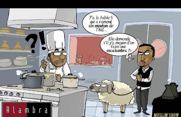 Et si tu ramenais ton mouton au resto