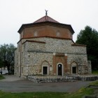 Vue extérieur de la mosquée Malkoc Bey en Hongrie