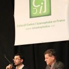 Collon et Debbah lors de la conférence