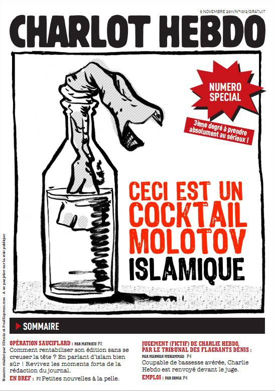 Charlot, l'ami indésirable de Charlie Hebdo