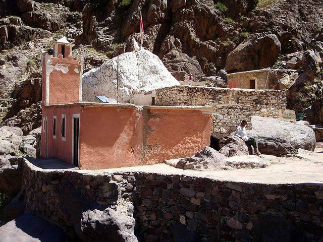 Mosquée du jour – route de l'Atlas
