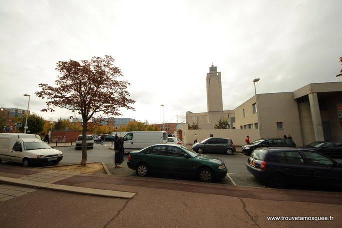 mosquée d'Evry vue d'ensemble