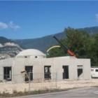 Mosquée de Saint Matin Le vinoux en cours de construction