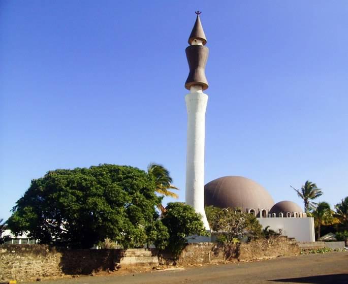 La mosquée de Saint Pierre de la Réunion