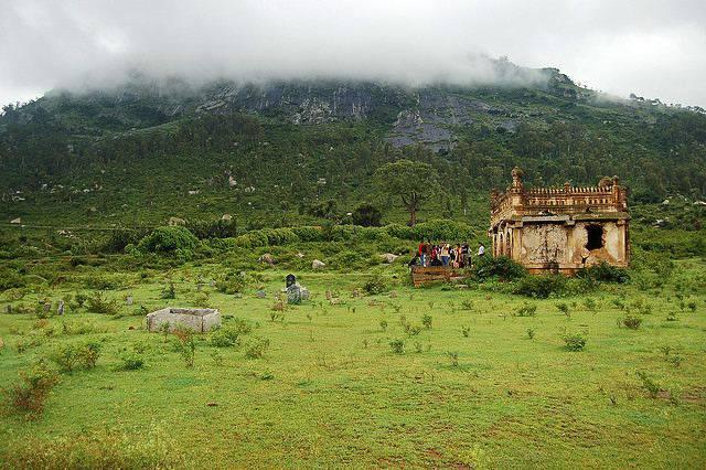Une vielle mosquée en Inde dans la région de Bangalore