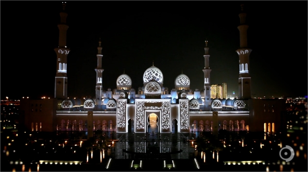 Sheikh Zayed Grand Mosque Projections (2)