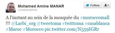 Twitter @manaramine A linstant au sein 400x116 A 22h00, le 31 décembre au Morocco Mall