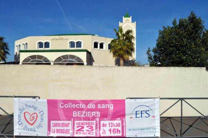 collecte de sang beziers mosquee