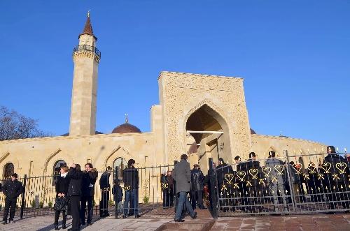 La nouvelle mosquée de Kiev