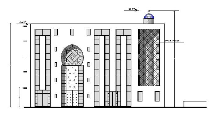 Première pierre pour la mosquée de Nanterre