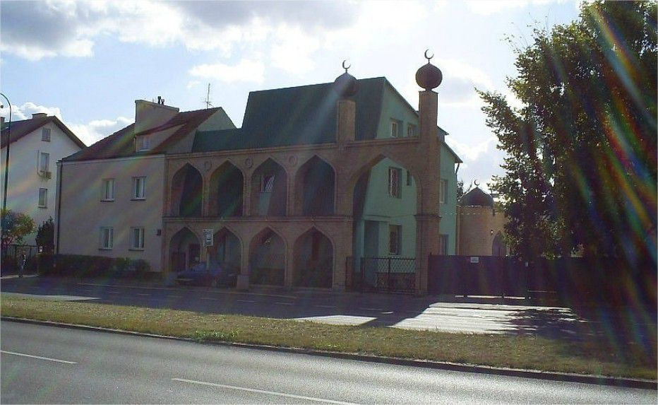une mosquée à Varsovie