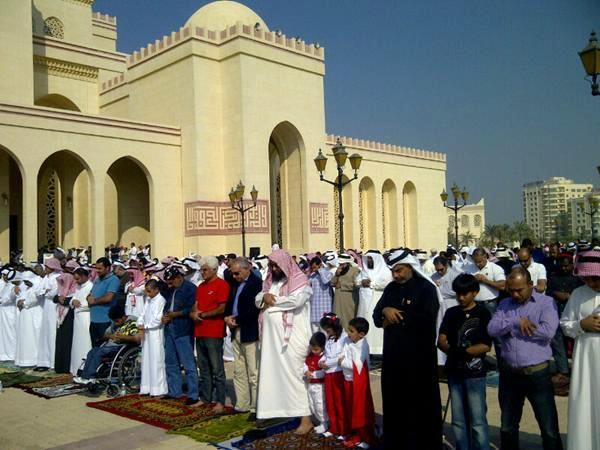 Une mosquée au Bahrein, son vendredi
