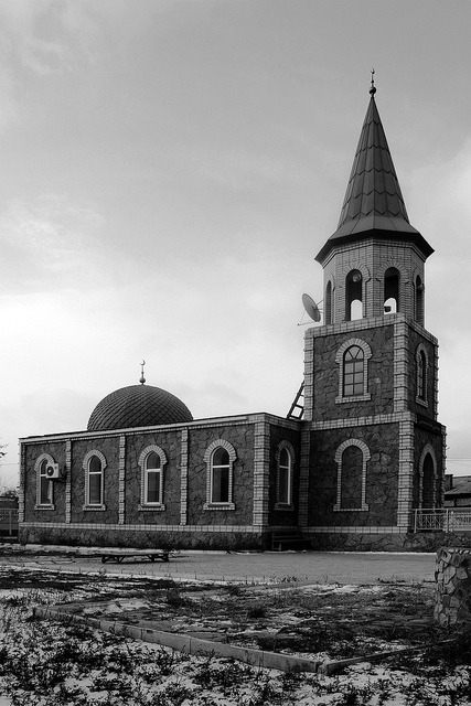 Une mosquée dans le Kazakhstan