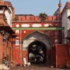 Une mosquée dans le vieux Delhi