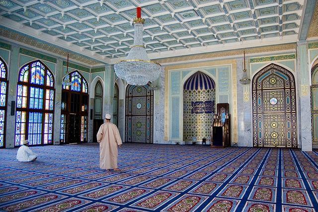 La mosquée Mutrah à Oman