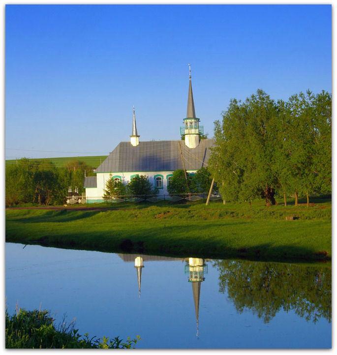 Une mosquée Russe
