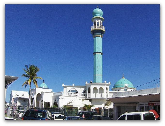 La mosquée de Saint Louis à l'île de la Réunion