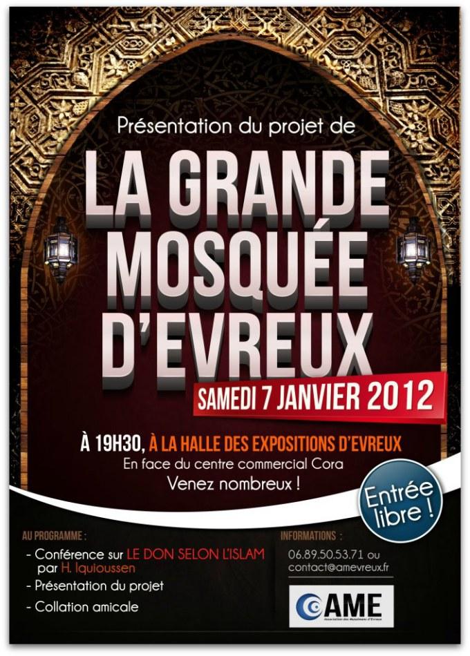 La grande mosquée d'Evreux