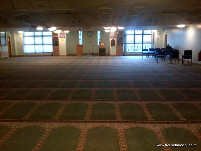 La salle de prière du centre islamique de Bradford