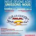 Affiche de la conférence de Nature Halal