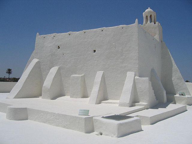 Mosquée de Djerba, Tunisie – Jemaâ Fadhloun