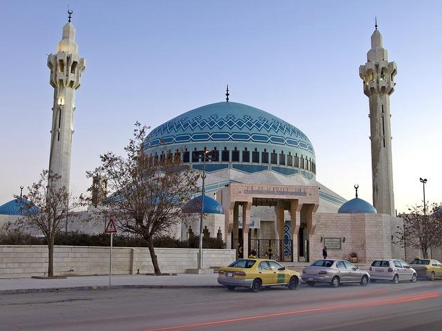 La grande mosquée  de Amman en Jordanie