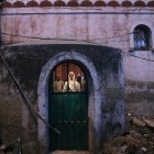 Prière dans une mosquée à New Delhi en Inde