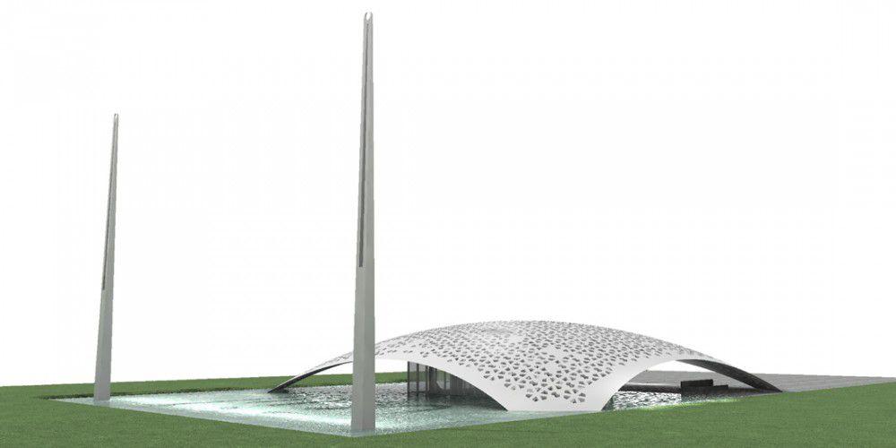 La vue d'ensemble du projet au souvenir de Sinan