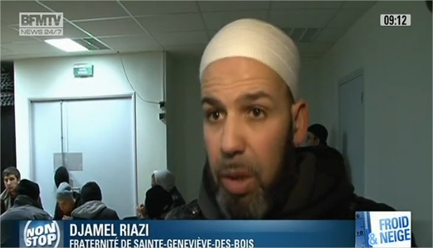 Vidéo  La mosquée de Sainte Genevièvedesbois accueille les sans  ~ Meteo St Genevieve Des Bois