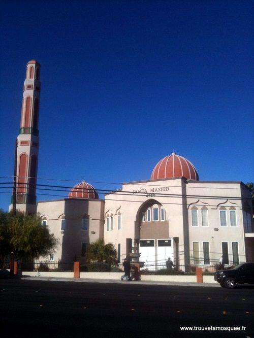 La mosquée Jamia à Las Vegas