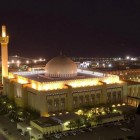 La grande mosquée Al Kabir au Koweït de nuit