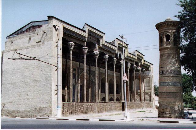 Une mosquée en Uzbékistan