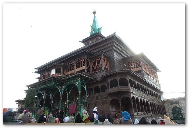 Mosquée Shan Hamadan Srinagar en Inde