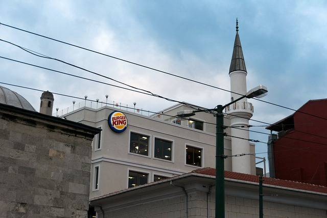 La mosquée Burger King