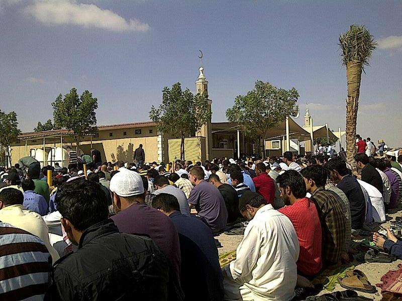 Mosquée de Dubaï Silicon Oasis, joumou'a 3 février 2012