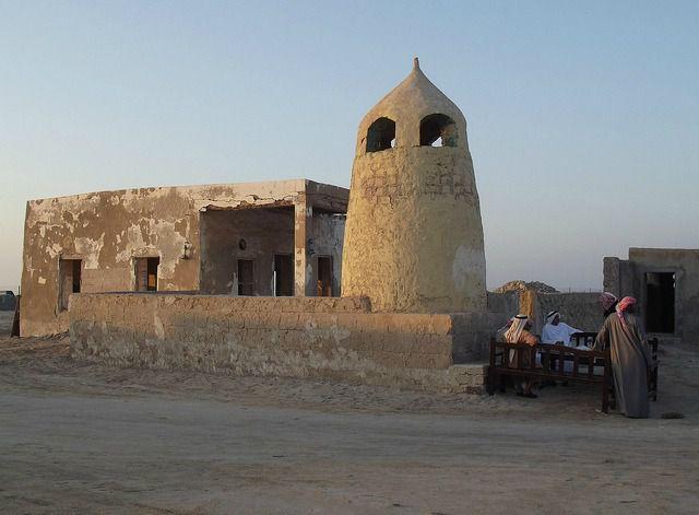 Une ancien mosquée à Jazerra al Hamra - UAE