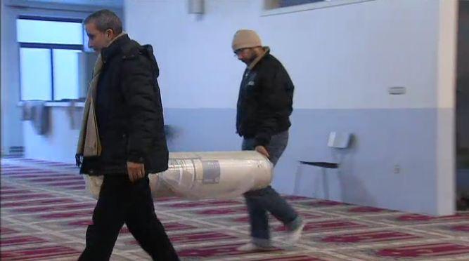 Les mosquées de Belgique ouvrent leurs portes aux sans-abri
