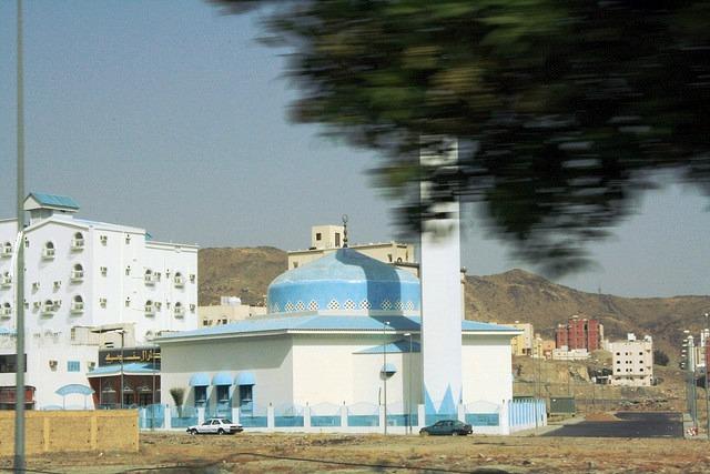 La mosquée bleue de la Mecque
