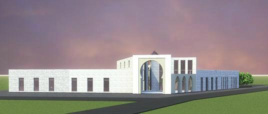 Maquette de la mosquée de Tourcoing - Essor