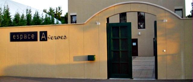 La façade de la mosquée de Geneviève des Bois