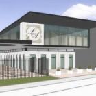 Maquette construction du nouveau Lycée Averroès